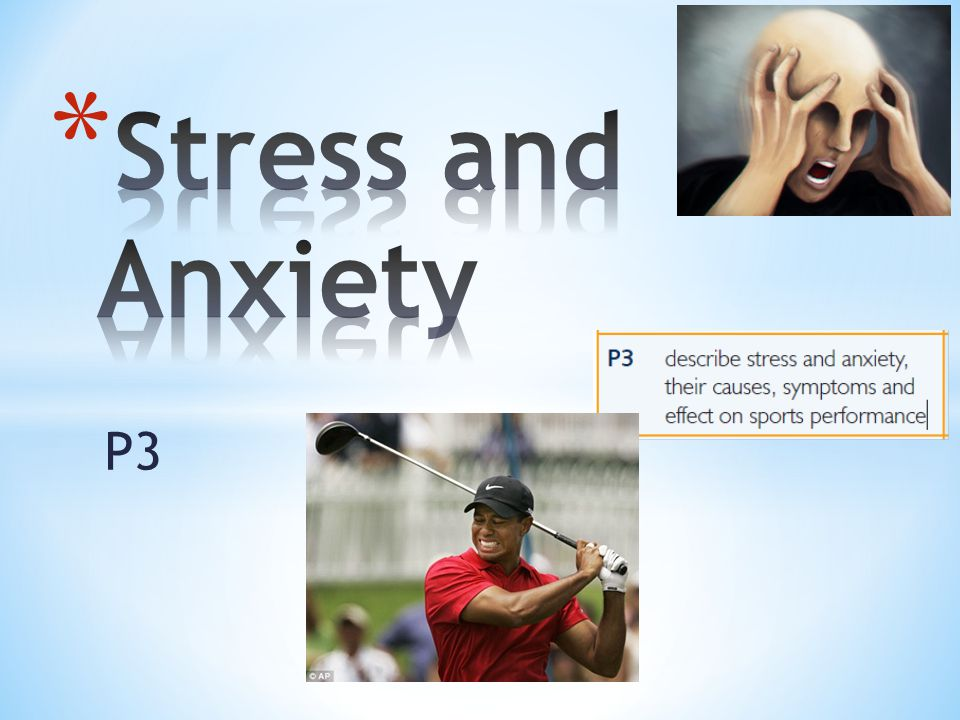 Stress and Anxiety P3
