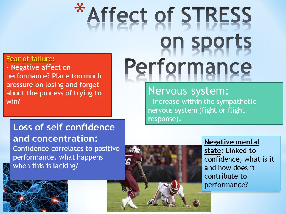 Affect of STRESS on sports Performance