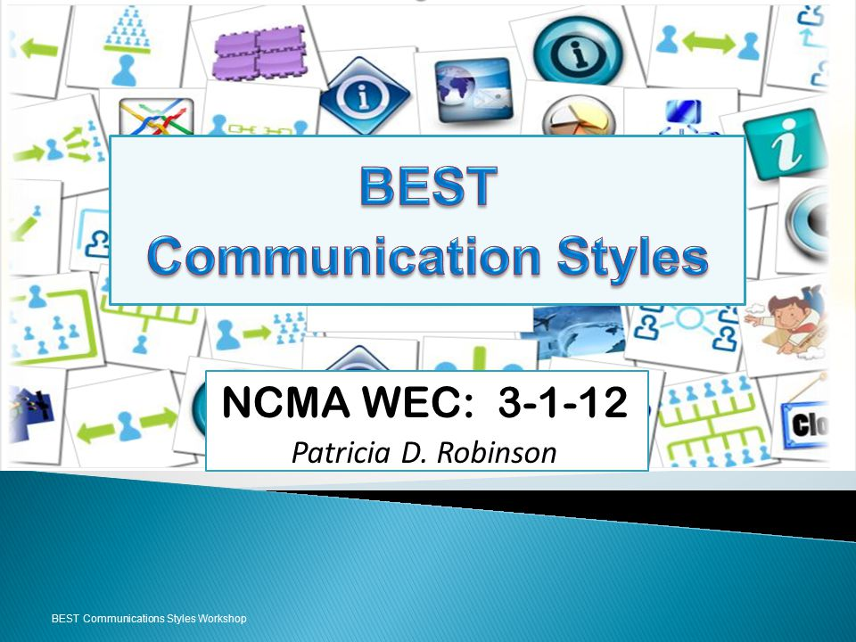 NCMA WEC: 3-1-12 Patricia D. Robinson