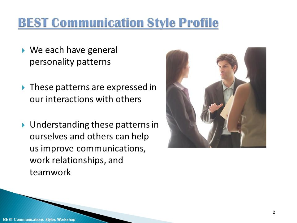 BEST Communication Style Profile