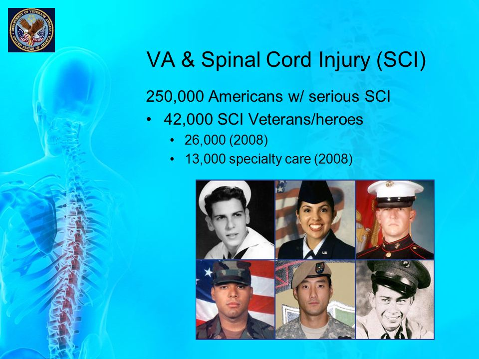 VA & Spinal Cord Injury (SCI)