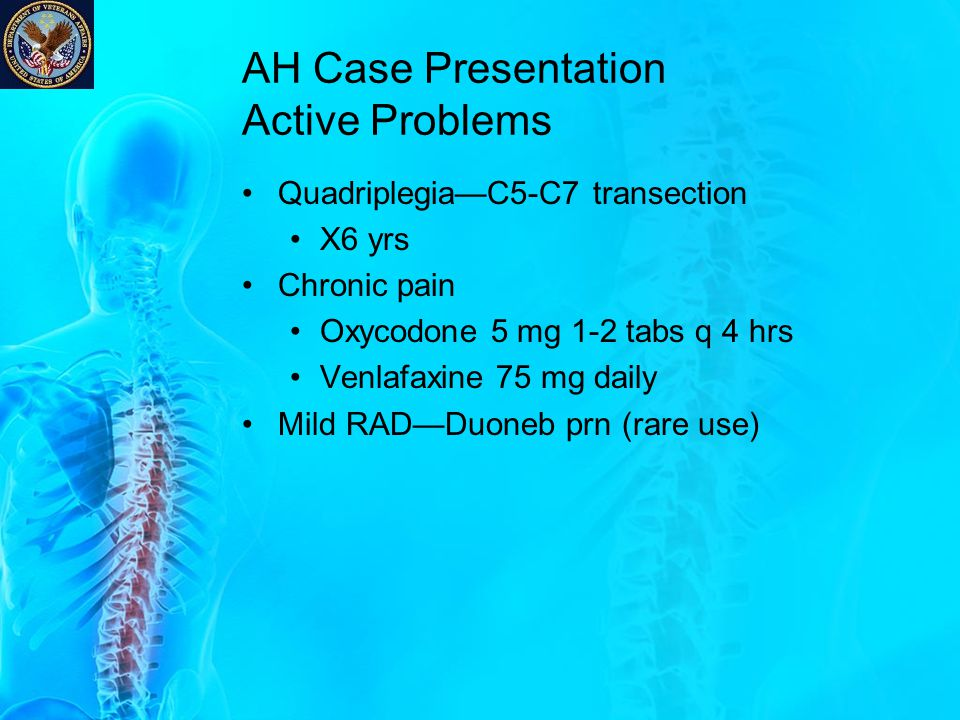 AH Case Presentation Active Problems