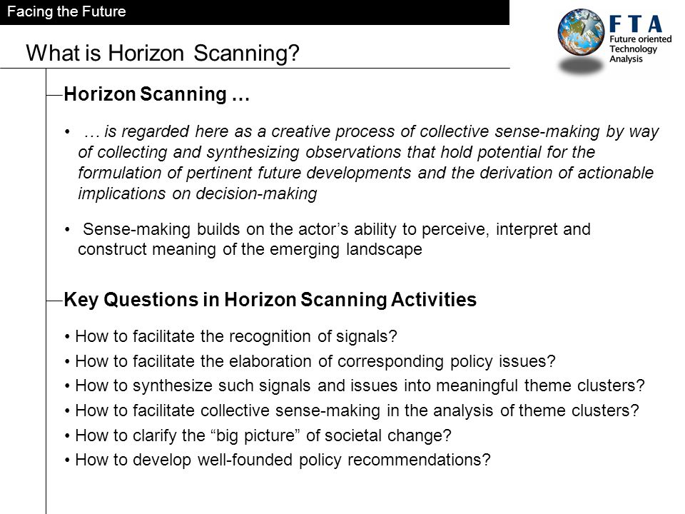 What is Horizon Scanning