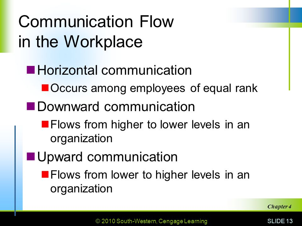 Communication Flow in the Workplace