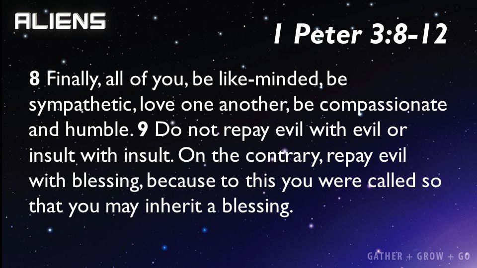 1 Peter 3:8-12