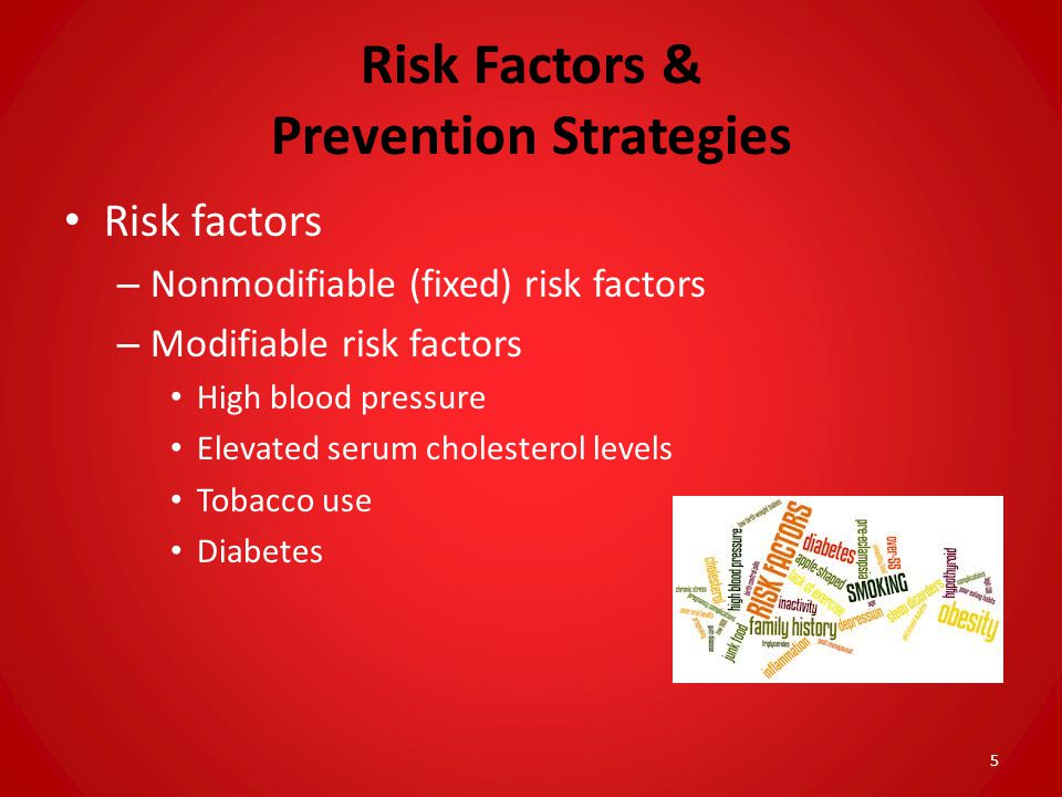Risk Factors & Prevention Strategies