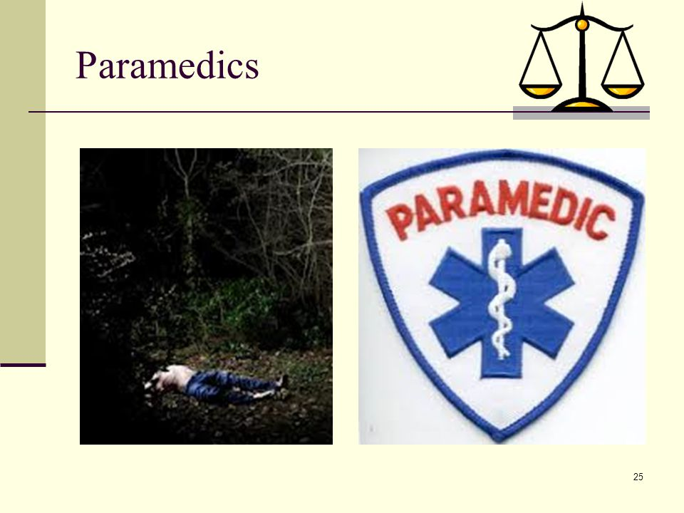 Paramedics Risk of patient injury and potential lawsuits are not unique to anesthesia or nurse anesthetists...