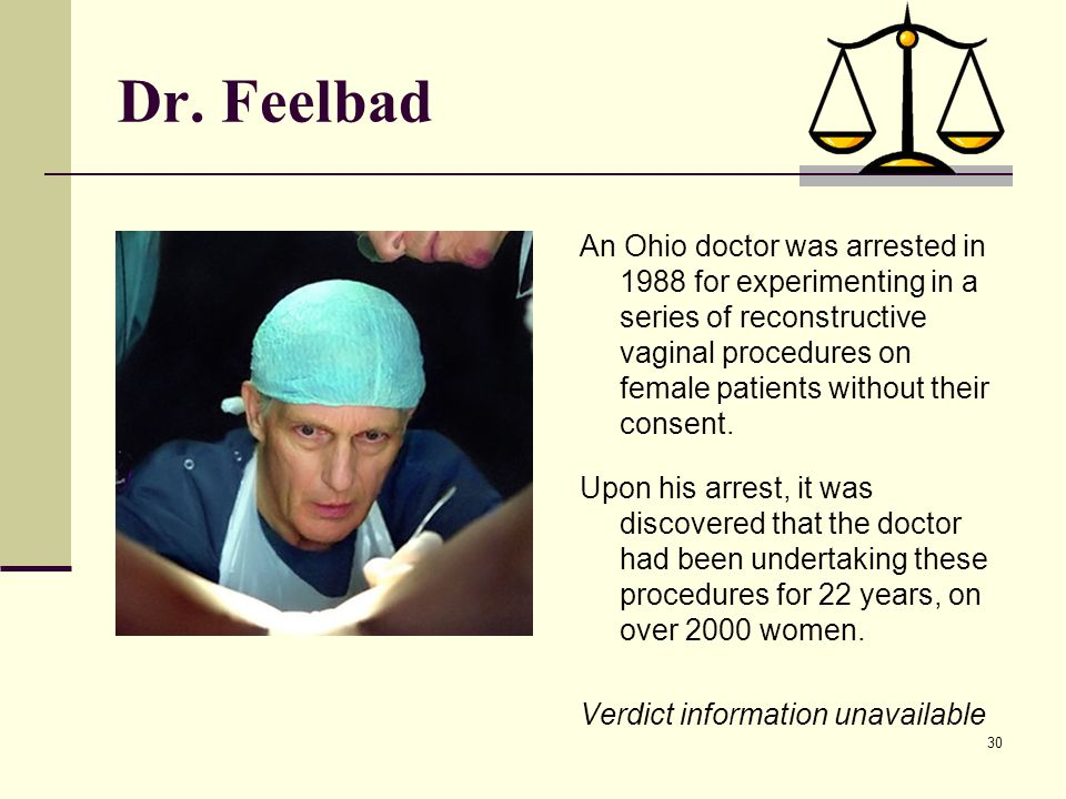 Dr. Feelbad