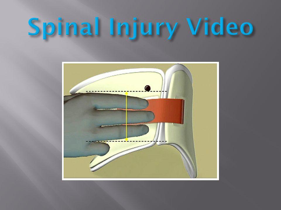 Spinal Injury Video
