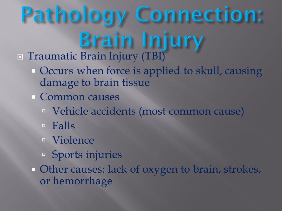 Pathology Connection: Brain Injury