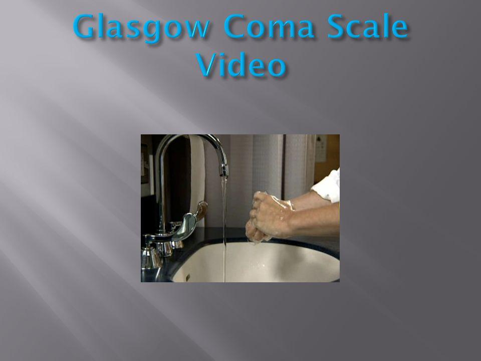 Glasgow Coma Scale Video