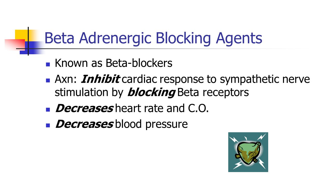 Beta Adrenergic Blocking Agents