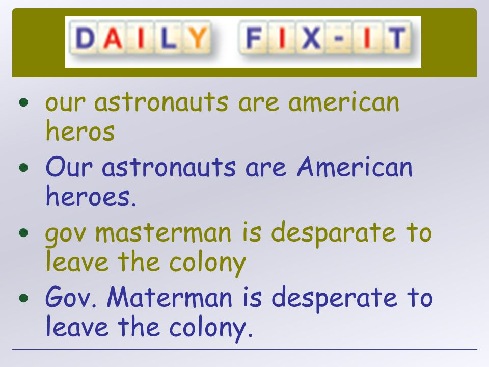 our astronauts are american heros