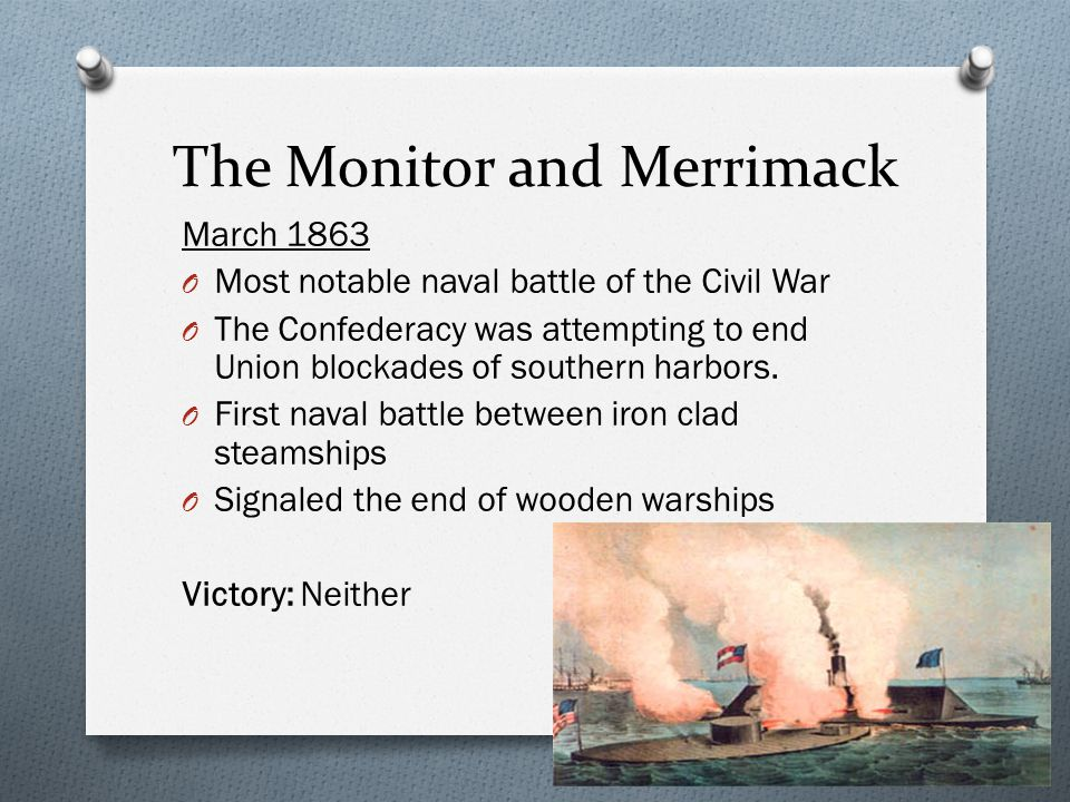 The Monitor and Merrimack
