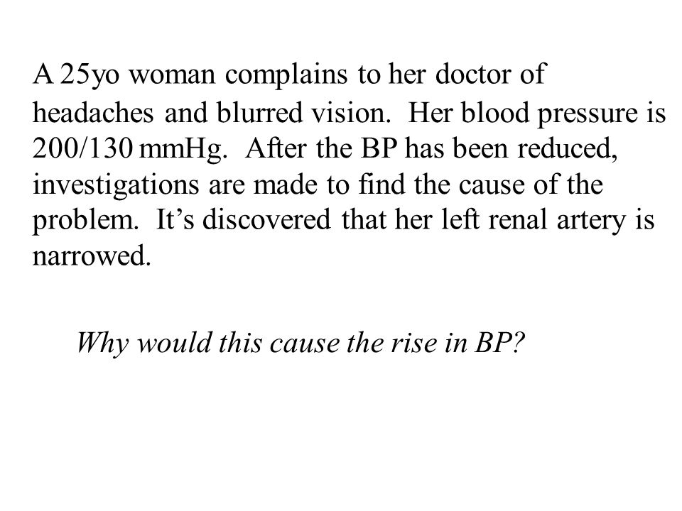 A 25yo woman complains to her doctor of