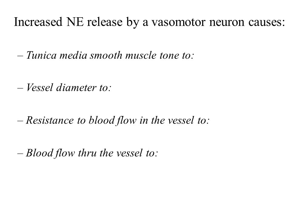 Increased NE release by a vasomotor neuron causes: