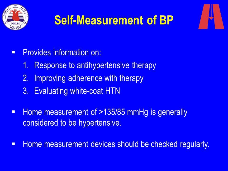 Self-Measurement of BP