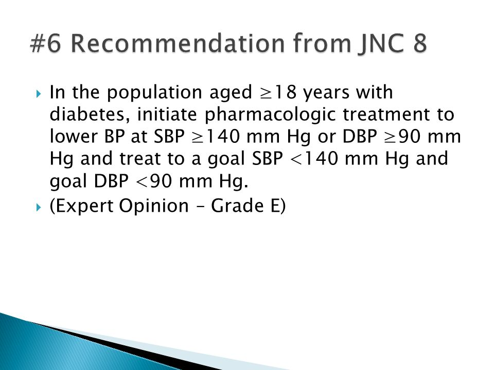#6 Recommendation from JNC 8