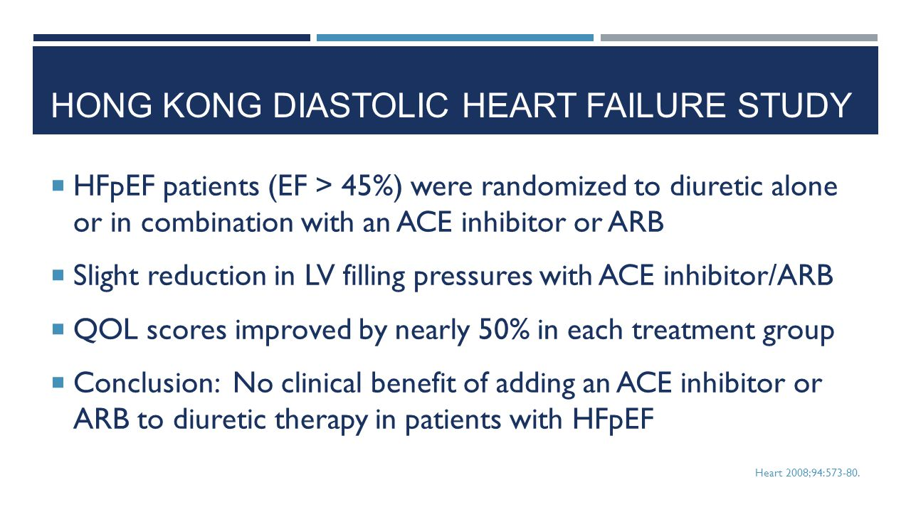 Hong kong diastolic heart failure study