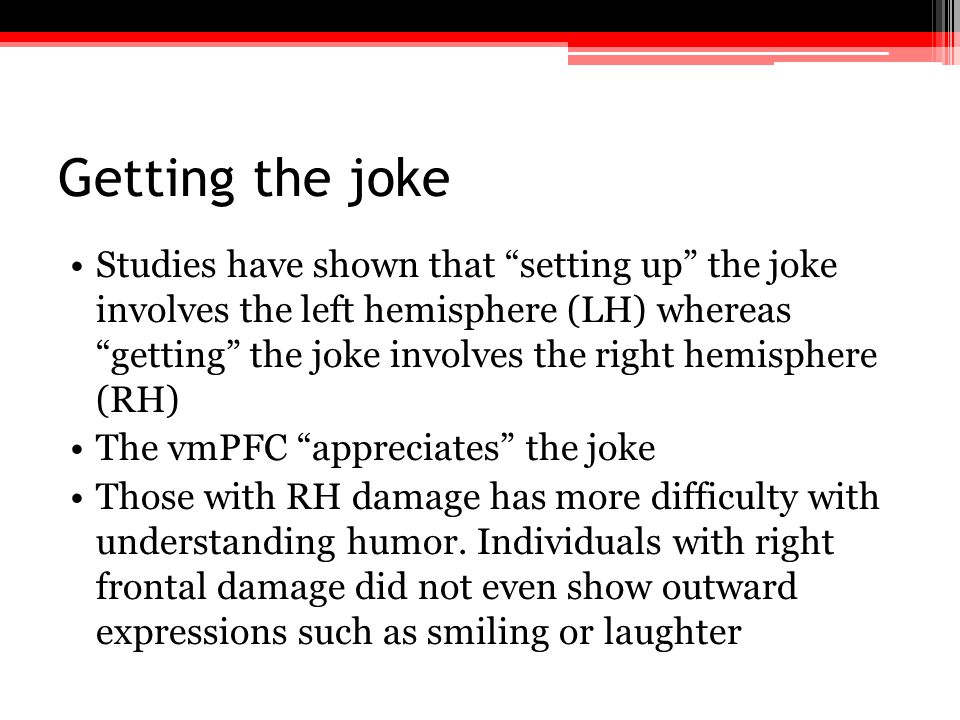 Getting the joke