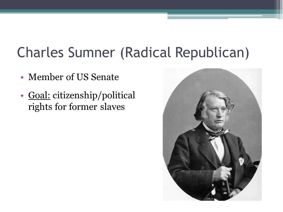 Charles Sumner (Radical Republican)