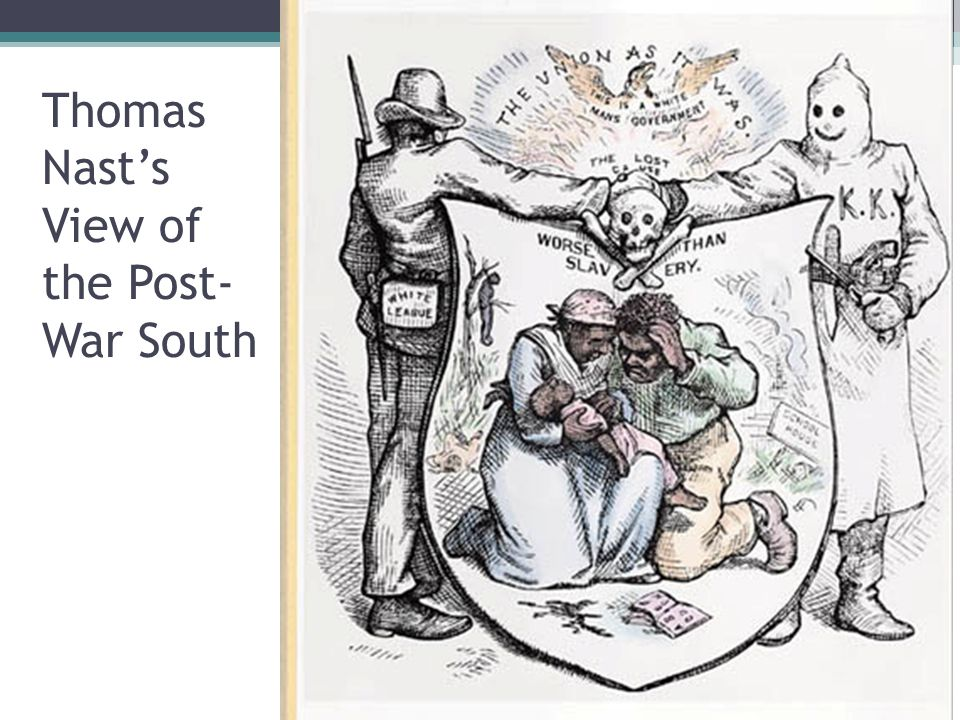Thomas Nast's View of the Post-War South