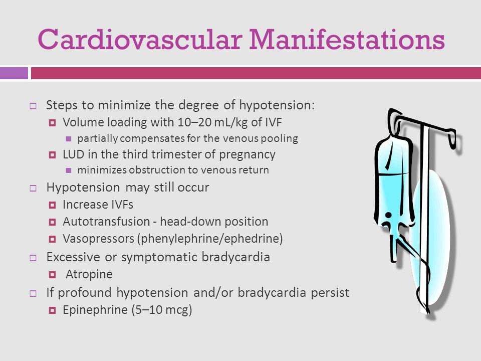 Cardiovascular Manifestations