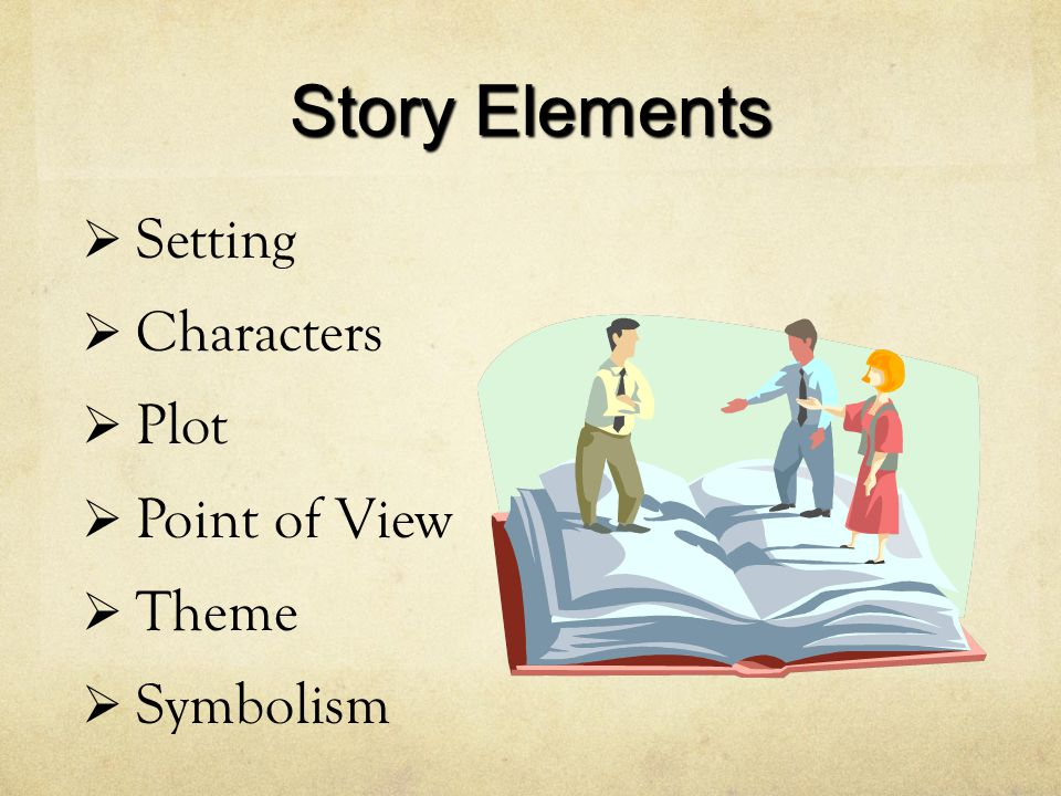 Story Elements Setting Characters Plot Point of View Theme Symbolism