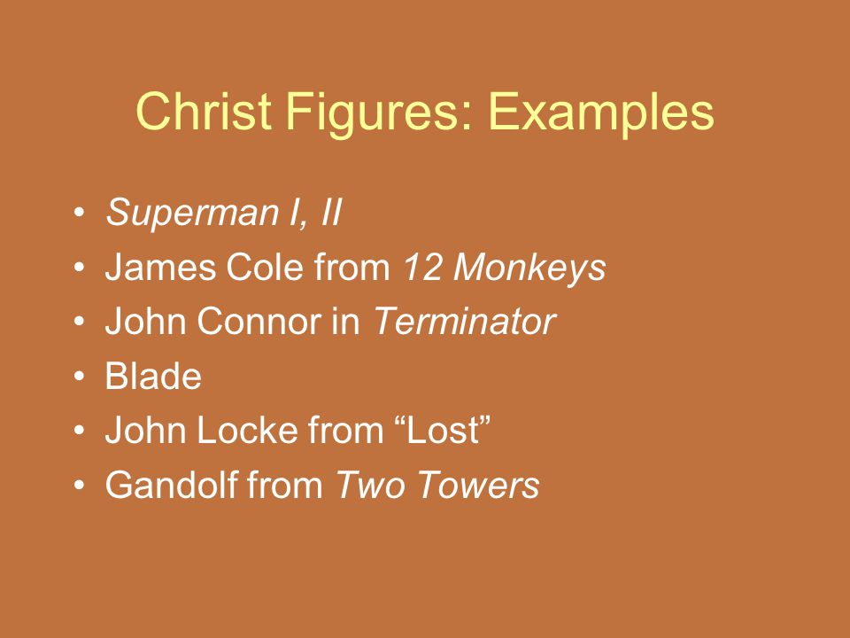 Christ Figures: Examples