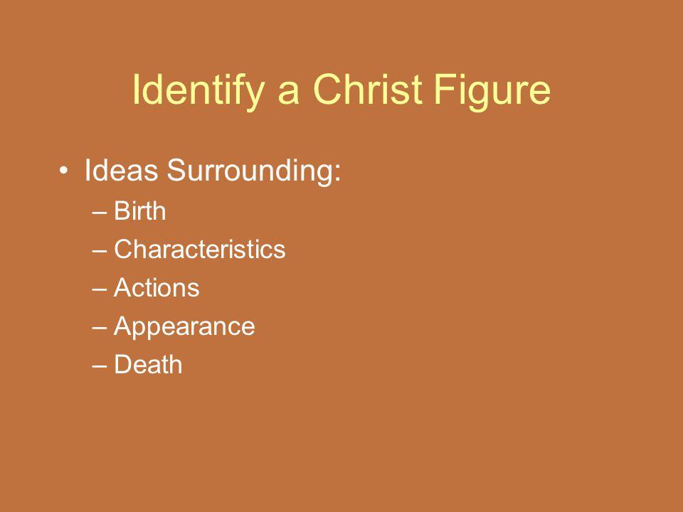 Identify a Christ Figure