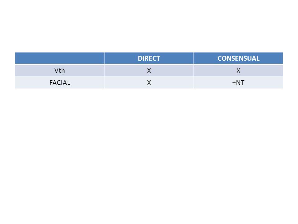 DIRECT CONSENSUAL Vth X FACIAL +NT
