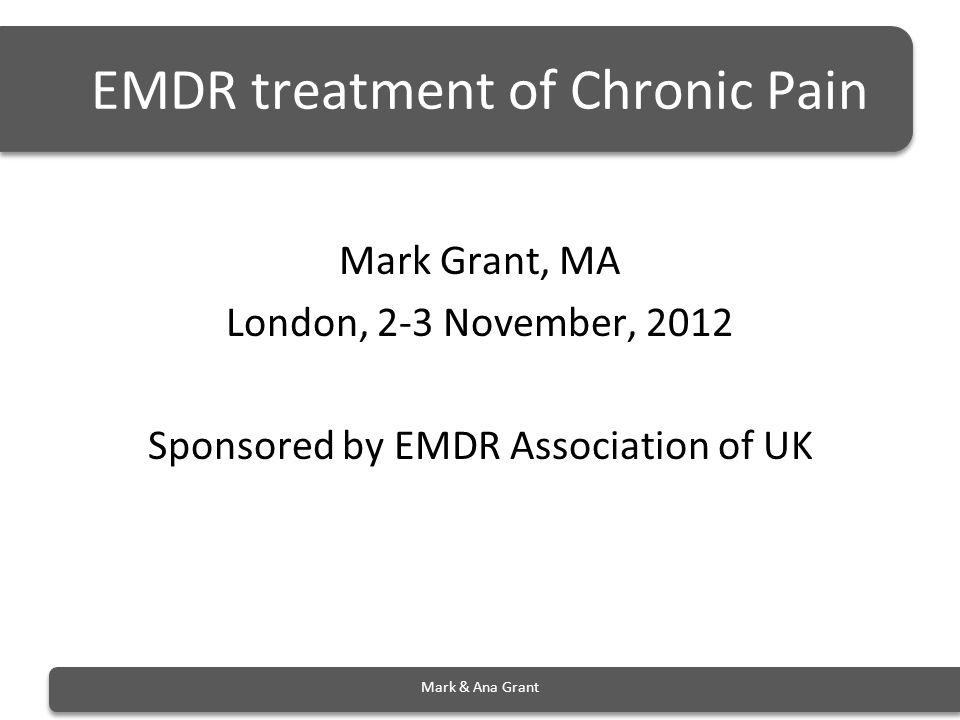 EMDR treatment of Chronic Pain