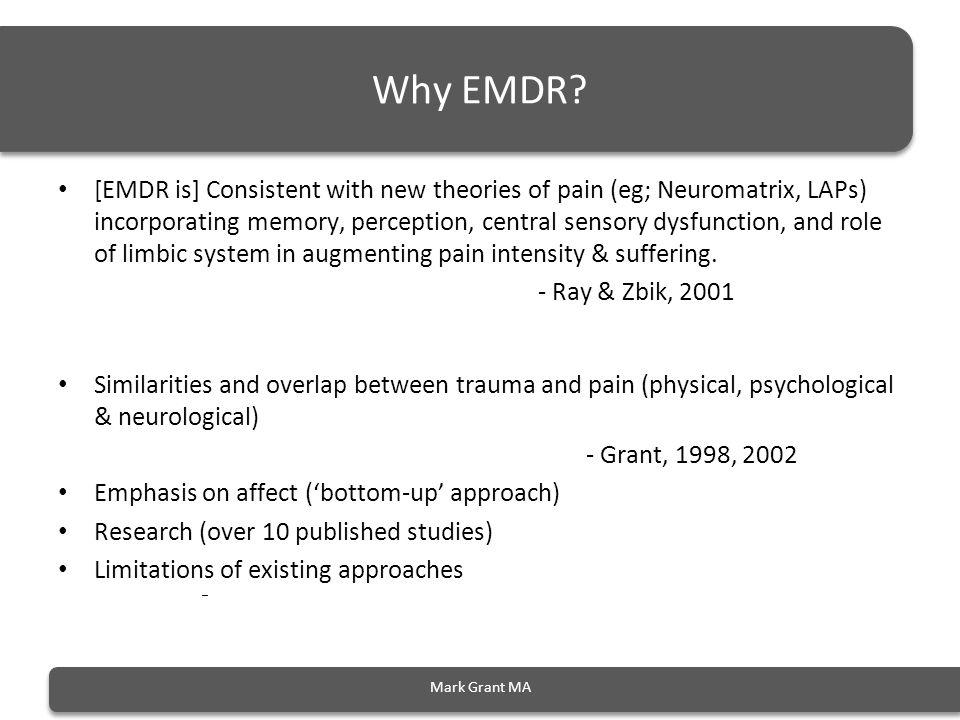 Why EMDR