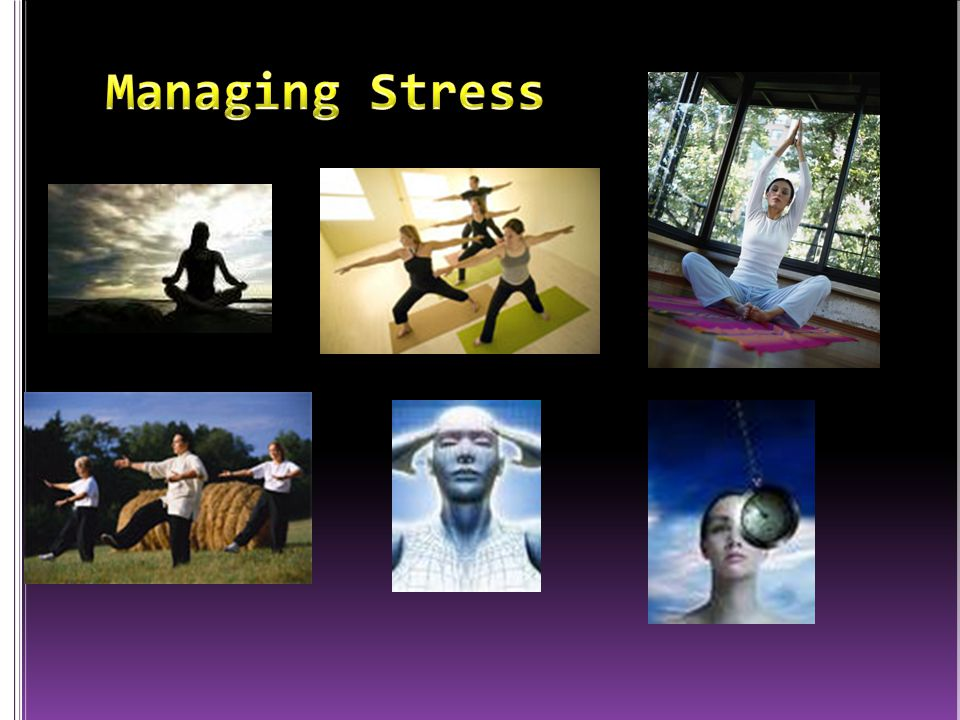Managing Stress Source: javier Pierini/Getty Images (courtesy of McGraw-Hill Higher Education)