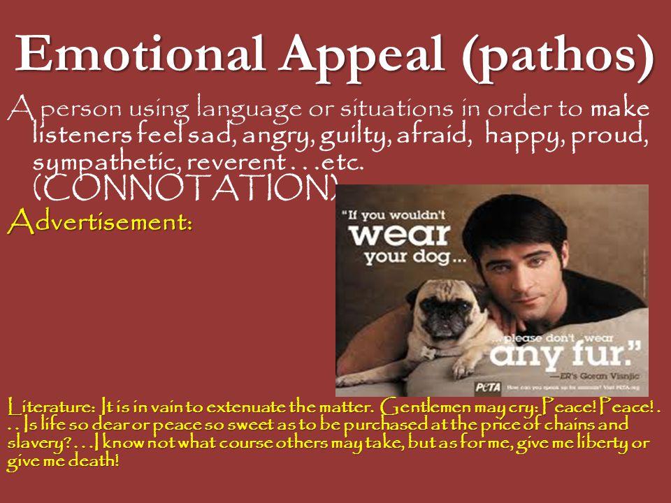 Emotional Appeal (pathos)