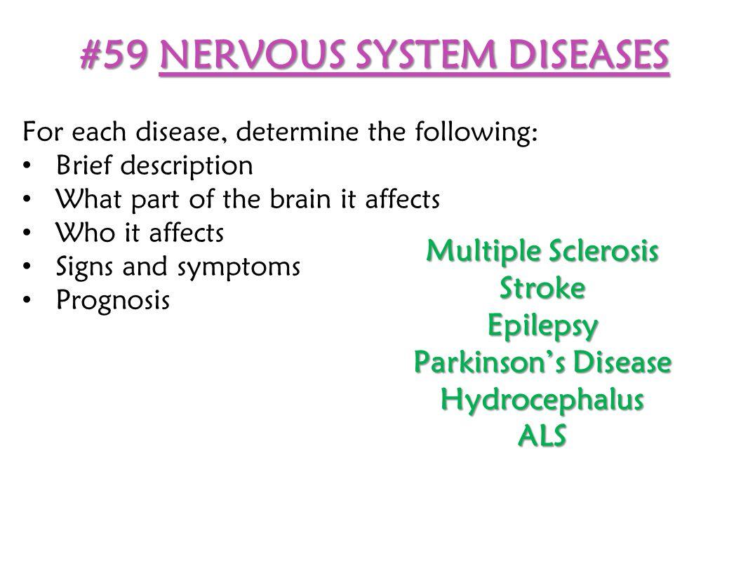 #59 NERVOUS SYSTEM DISEASES