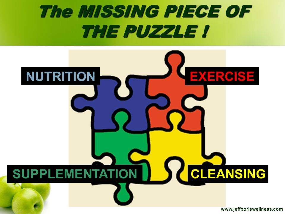 The MISSING PIECE OF THE PUZZLE !