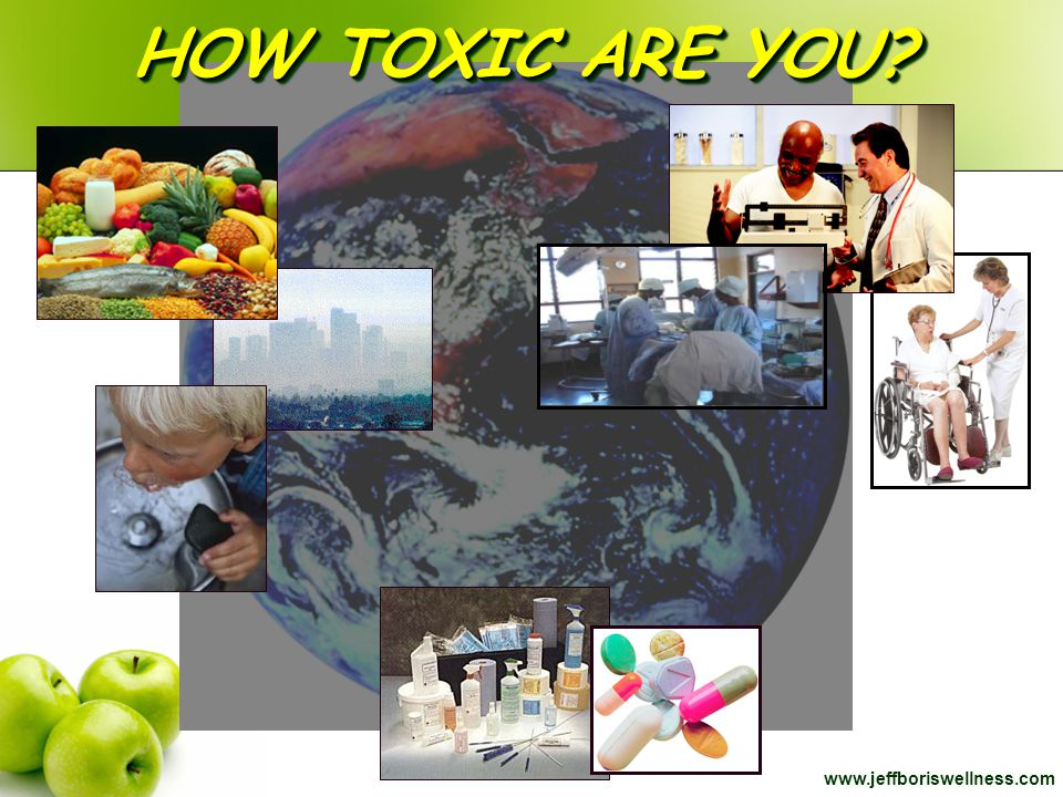 HOW TOXIC ARE YOU www.jeffboriswellness.com