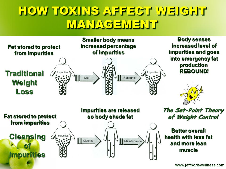 HOW TOXINS AFFECT WEIGHT MANAGEMENT