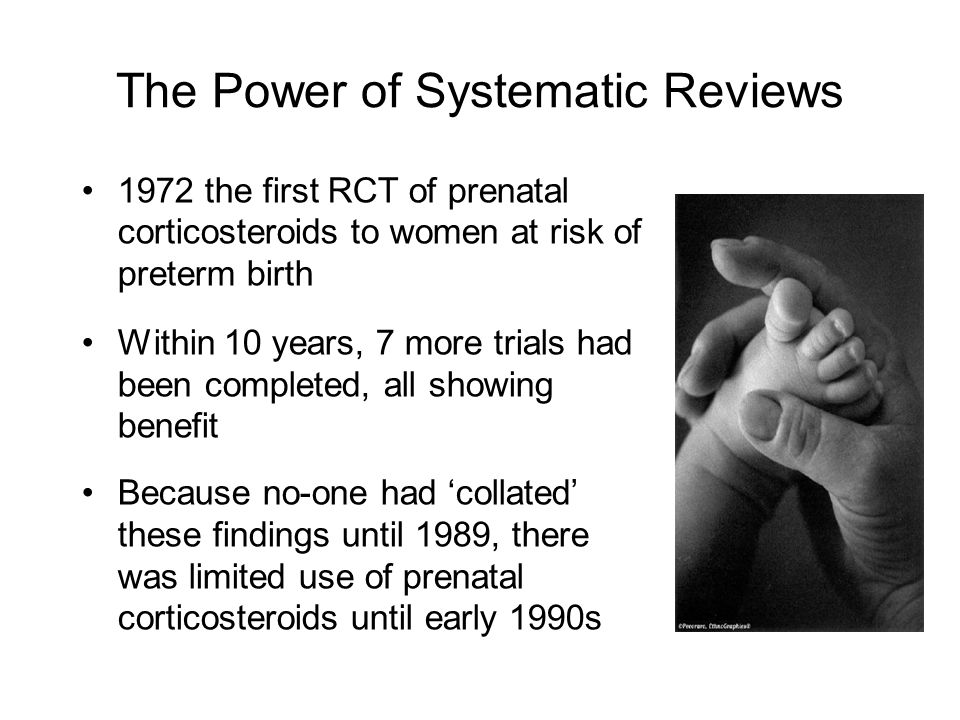 The Power of Systematic Reviews