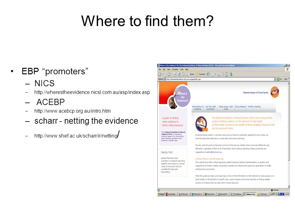 Where to find them EBP promoters NICS ACEBP
