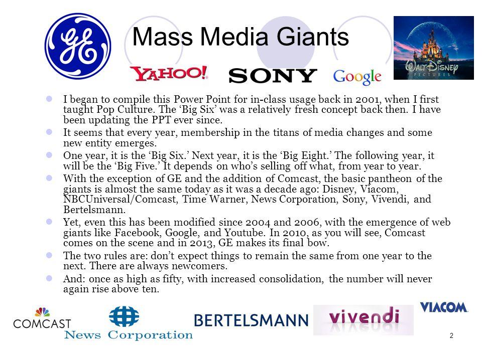 Mass Media Giants