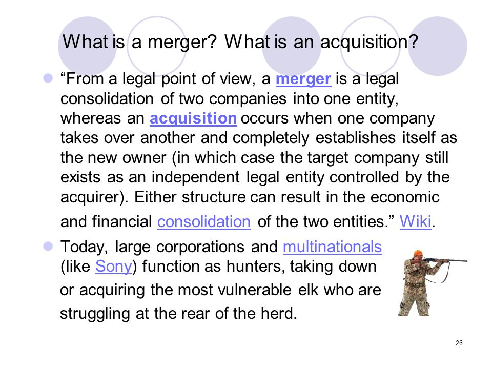 What is a merger What is an acquisition