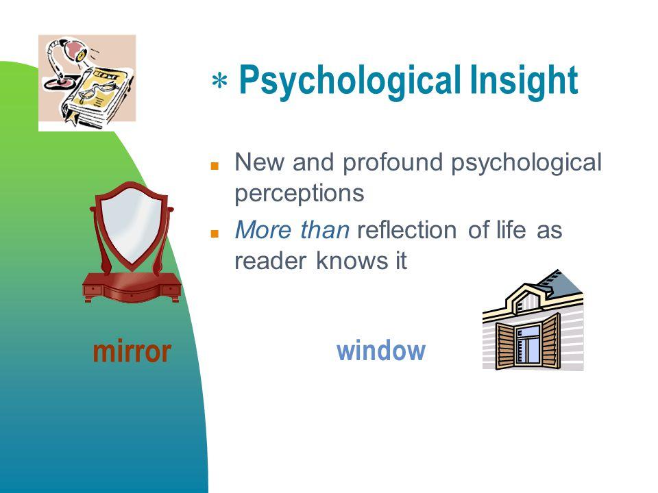 Psychological Insight