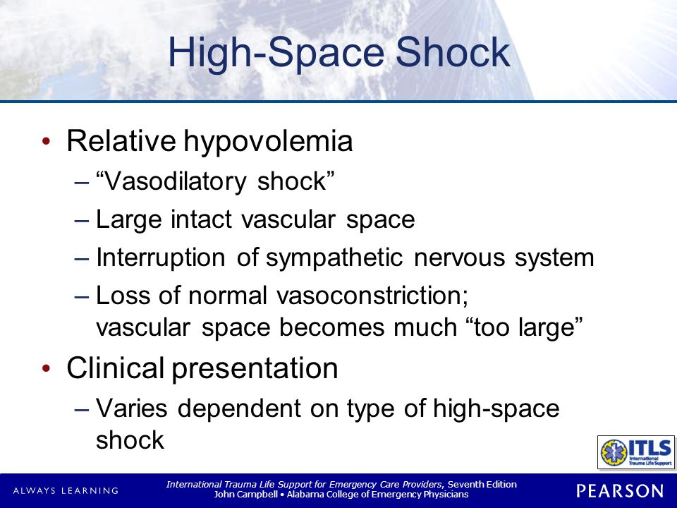 High-Space Shock Types