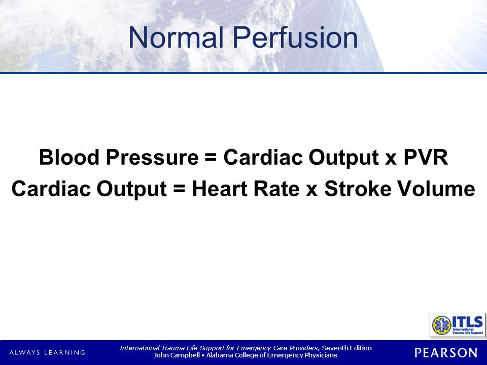 Perfusion Preservation