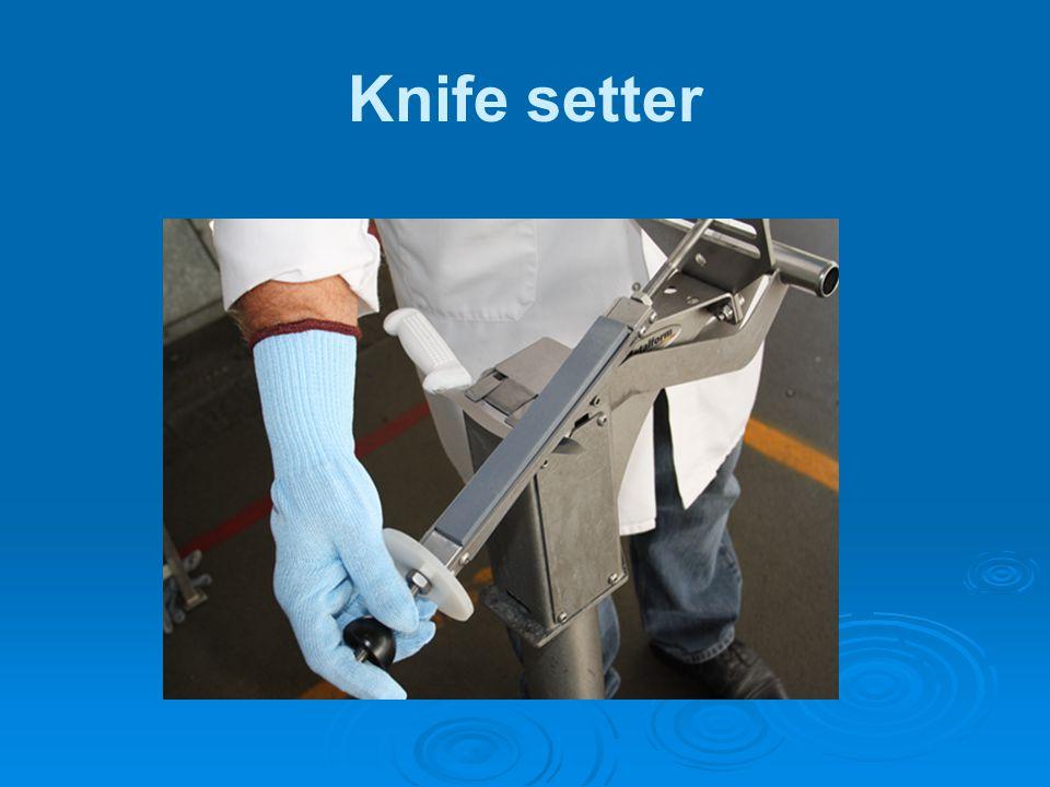 Knife setter