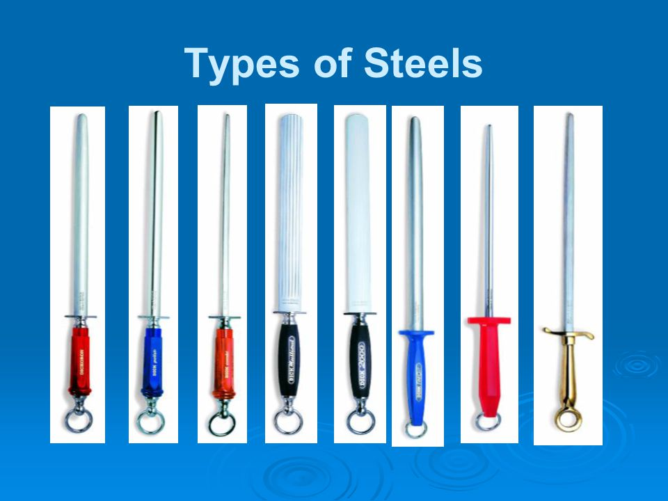 Types of Steels