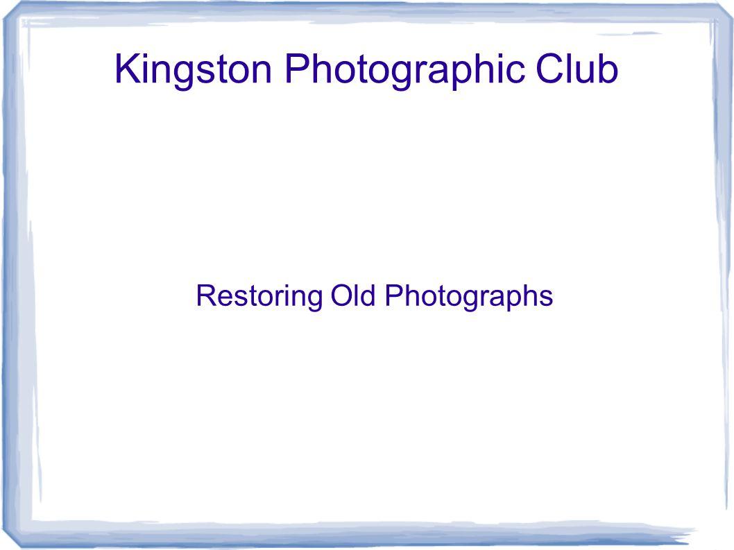 Kingston Photographic Club
