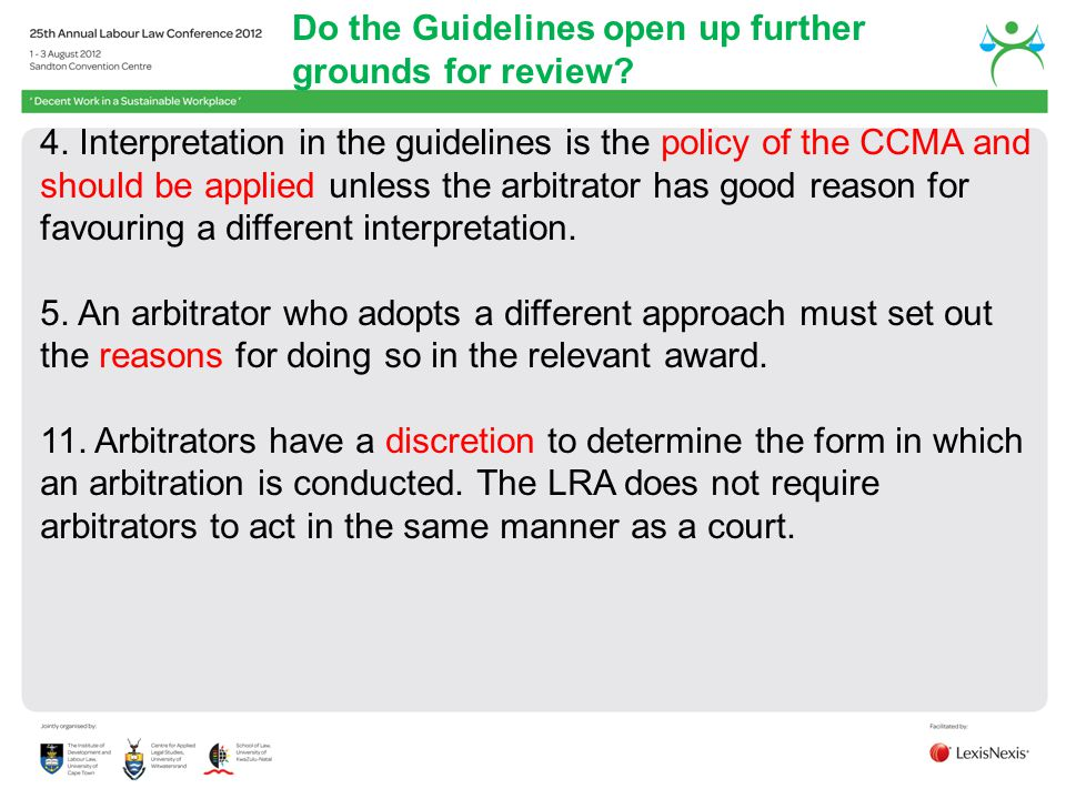 Do the Guidelines open up further grounds for review
